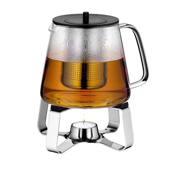 Inteligentny Szklany dzbanek do parzenia herbaty WMF 1,2 litra z podgrzewaczem CS25